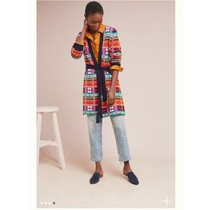 Anthropologie Sweaters - BNWT Anthropologie Williston Plaid Cardigan